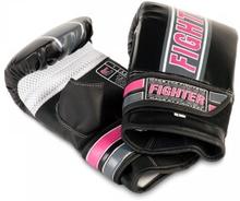Fighter Säckhandske Speed ll, svart/rosa, xsmall Säckhandskar