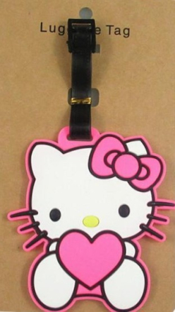 Bagagetag Hello kitty