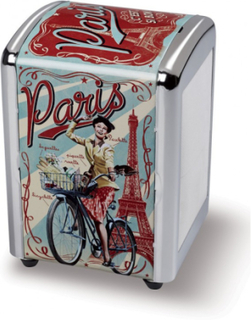 Paris Paulette Servetthållare / Dispenser