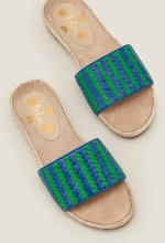 Imogen Slipper mit Fußbett BLU Damen Boden, BLU