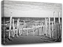 Canvastavla Beach - 100x75 cm