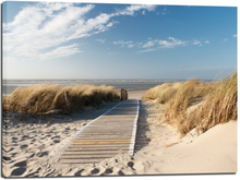 Canvastavla Beachwalk - 100x75 cm