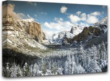 Canvastavla Yosemite valley - 100x75 cm