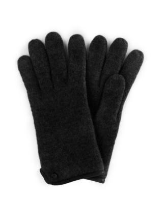 Handsker 100% ren ny uld Fra Roeckl sort - Peter Hahn