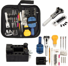 144Pcs Watch Repair Set of Tool Watch Case Kit Opening Pry Tool Removal Pin Link Spring Bar Holder Clock Repair Tool