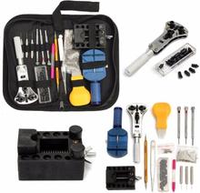 144Pcs Watch Repair Set of Tool Watch Case Kit Opening Pry Tool Removal Pin Link Spring Bar Holder Clock Repair Tool