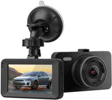 Dashcam 1080p - stor skærm - G-sensor