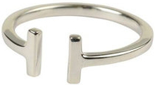 Strict plain bar ring, ONE SIZE