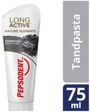 Tandkräm Fresh Naturals Charcoal White, 75 ML