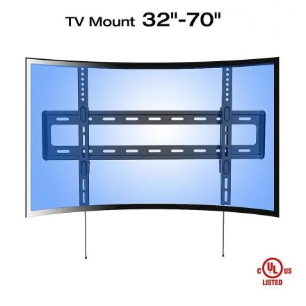 Fleximounts R1 buede Panel UHD HD fast TV Mount vægbeslag for de fl...