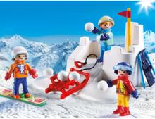 - Family Fun - Snöbollskrig