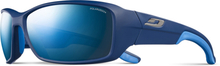 Julbo Run Polarized 3+ Sunglasses Men matt blue/blue/grey flash blue 2020 Solbriller