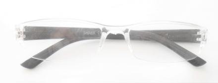 Läsglasögon svarta/transparent +1.50