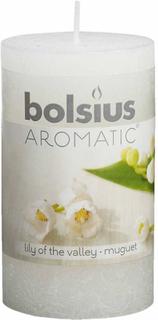 Bolsius rustikke duftlys 6 stk. liljekonval 103626240303