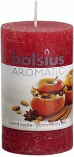 Bolsius rustikke duftlys 6 stk. bagt æble 103626240326