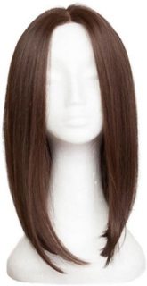 Rapunzel Of Sweden Lace Front Peruk - Lob 40cm Coffee Brown
