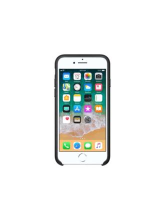 iPhone 7/8 Leather Case - Black