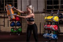 Tunturi Power taske - Styrketaske - Sandpose - Fitness taske - 15 kg - Rød