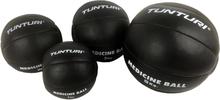 Tunturi Medicine Ball - Crossfit Ball - Medicine ball - 1 kg - Sort læder