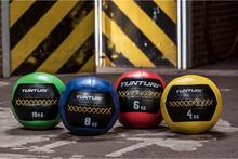 Tunturi Wall Ball - Medicinbold - Crossfit-bold - 10 kg - Grøn