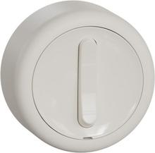 Renova utanpåliggande strömbrytare vit