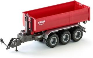 SIKU Traktor Trailer - 3-akslet kroklifte