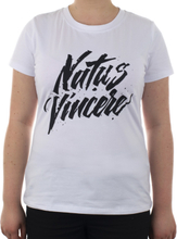 Woman T-Shirt Calligraphy - White