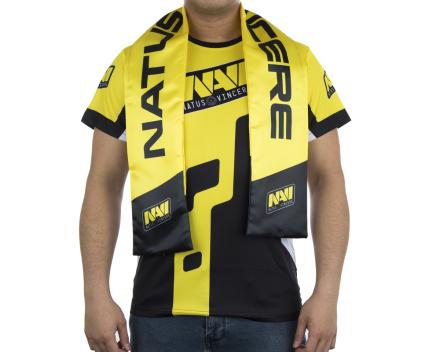 Fan Scarf - Yellow