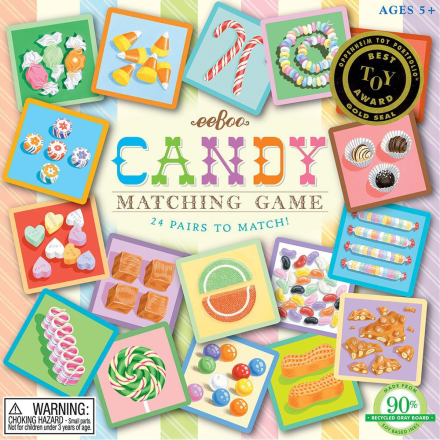 eeBoo - Matching game, Candy