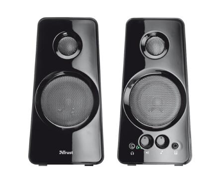 Tytan 2.0 Speaker set 18W RMS - Black