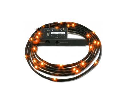 Sleeved LED Kit Cable Orange 2M