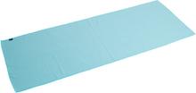 Pure2Improve Yogahandduk halkfri blå