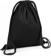 Organic Premium Cotton Gymsac Black