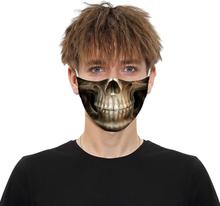 Munskydd i Bomull - Skelett