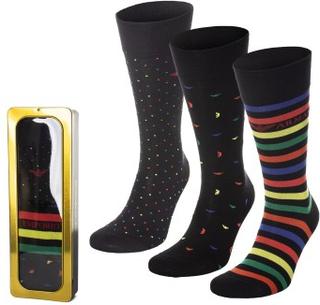 Emporio Armani 3-pak Multipack All Over Eagle Short Sock * Fri fragt på ordrer over 349 kr * * Kampagne *