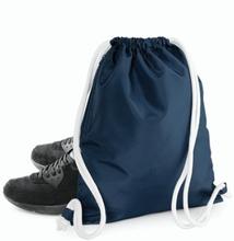 Icon Drawstring Backpack Black