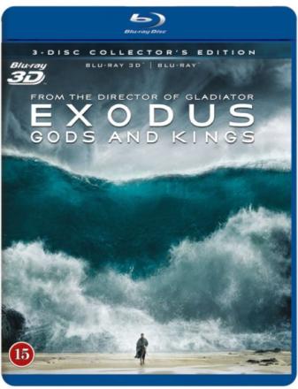 Exodus: Gods and Kings (3D Blu-Ray)