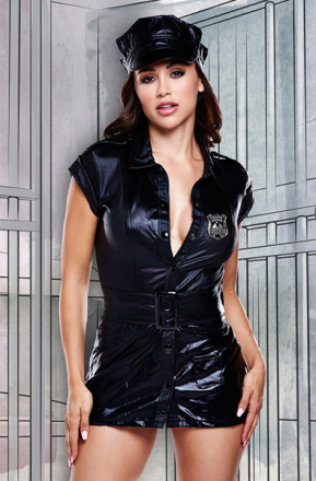 Baci Lingerie Dirty Cop Set One Size