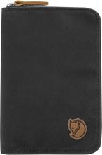 Passport Wallet Dark grey