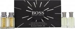 Hugo Boss Miniature Gift Set 2 x 5ml Boss Bottled EDT + 2 x 5ml Boss The Scent EDT