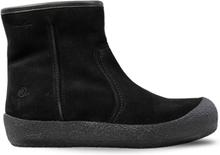 Rosa Negra Zipper Winter Boot Black