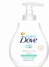 Dove Baby Head To Toe Wash Sensitive 200 ml