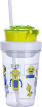 Contigo Kids Snack Becher Roboter Grün 350 ml