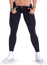 Nebbia Bubble Butt Pants Revolution, black, medium Träningstights dam