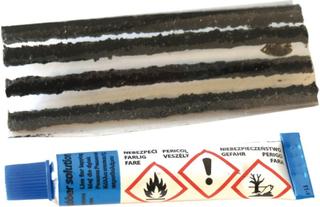 Diverse Tubeless-Reparatur-Kit Weldtite til tubeless-dekk 5 stk. 2019 Reparasjonskit