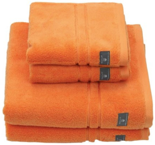 Gant Premium Terry Ansigtshåndklæde 30X50 Tangerine Gant