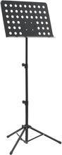 vidaXL Notställ svart stål