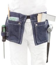 Snickarbälte med verktyg