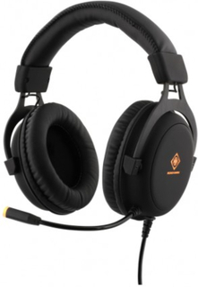 DELTACO GAMING Stereo Headset 57mm element LED-belysning - Deltaco