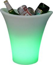 Champagnehink med LED-ljus